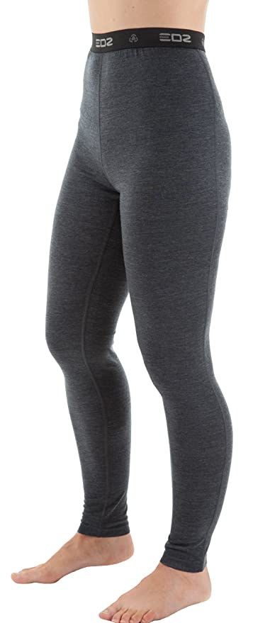 b2169b6e0c396 EDZ Merino Wool Base Layer Leggings Womens Graphite 16: Amazon.co.uk ...