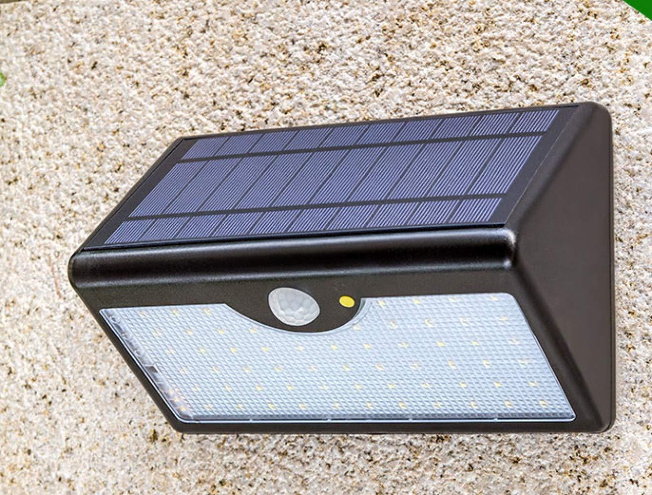 Qoo energia solare led esterno staccionata giardino applique