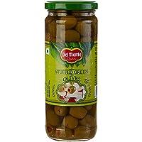 Del Monte Olives - Stuffed Green, 450g Bottle