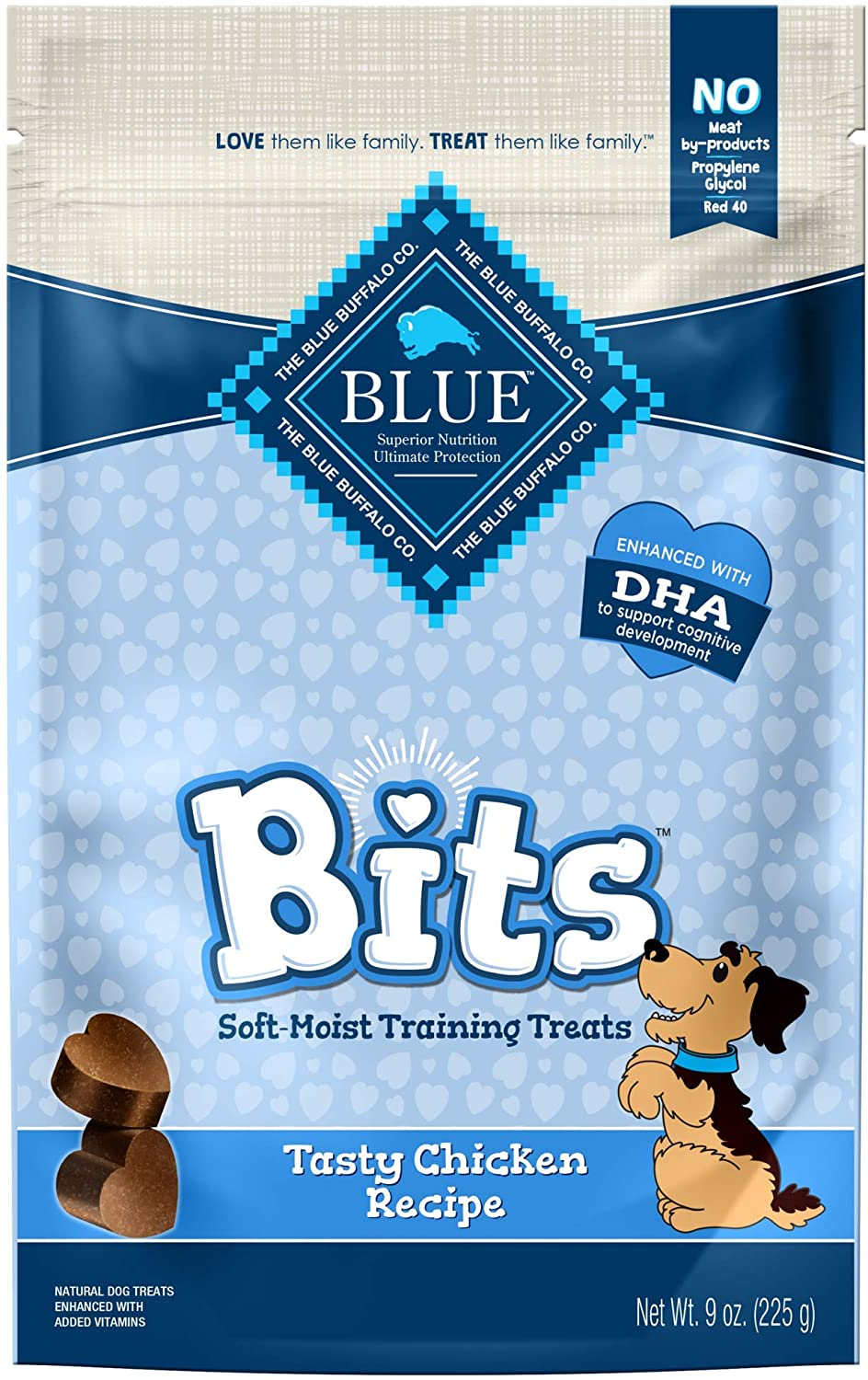 Blue Buffalo BLUE Bits Natural Soft-Moist Training Dog Treats