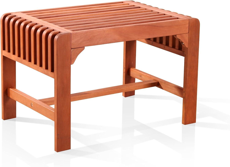 Vifah V1398 Backless Single Bench
