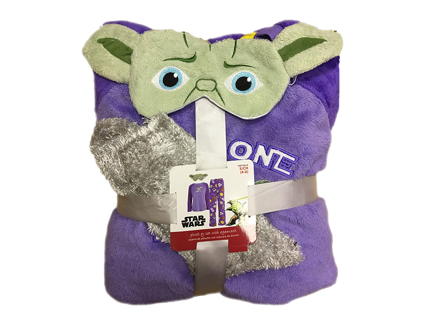 Disney Star Wars Yoda Womens 4-Piece Plush Fleece Pajama Set (3X / 22W-24W) at Amazon Womens Clothing store: