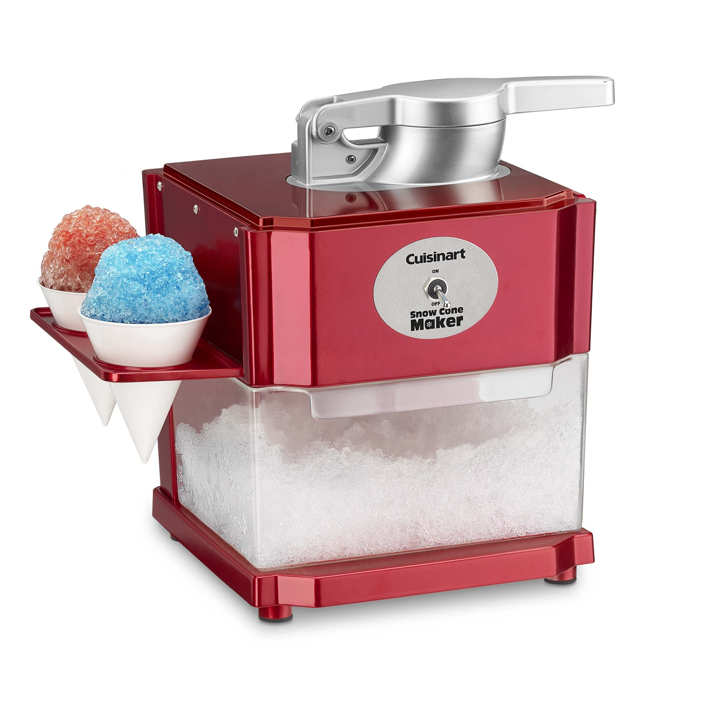 Cuisinart SCM-10 Snow Cone Maker, Red by Cuisinart