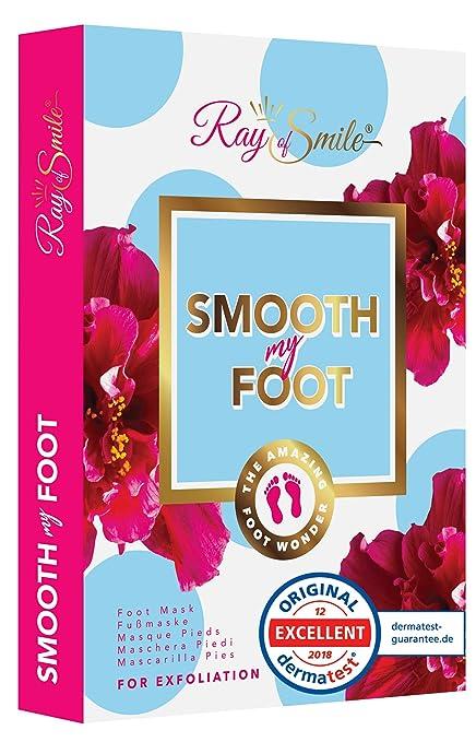 SMOOTH MY FOOT Mascarilla pies para eliminar piel muerta, mascarilla exfoliante para pies, calcetines