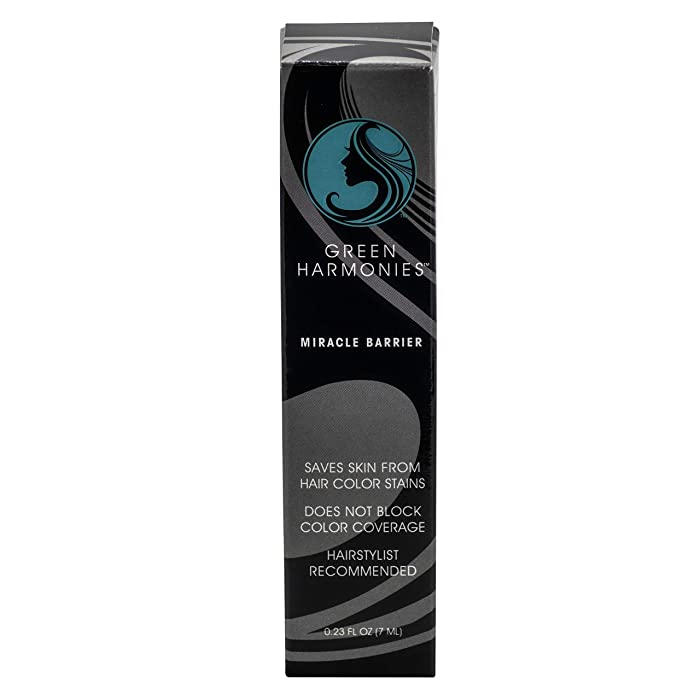 Miracle Barrier hair color stain remover. The best hair color barrier cream for Women and Men. A quick and easy way to avoid color stains! Perfect for hair and beards. Use it at home or in the salon!