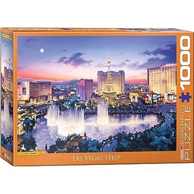 EuroGraphics 6000-5491 Las Vegas Strip by Eugene Lushpin 1000Piece Puzzle: Toys & Games