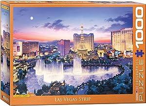 EuroGraphics 6000-5491 Las Vegas Strip by Eugene Lushpin 1000Piece Puzzle