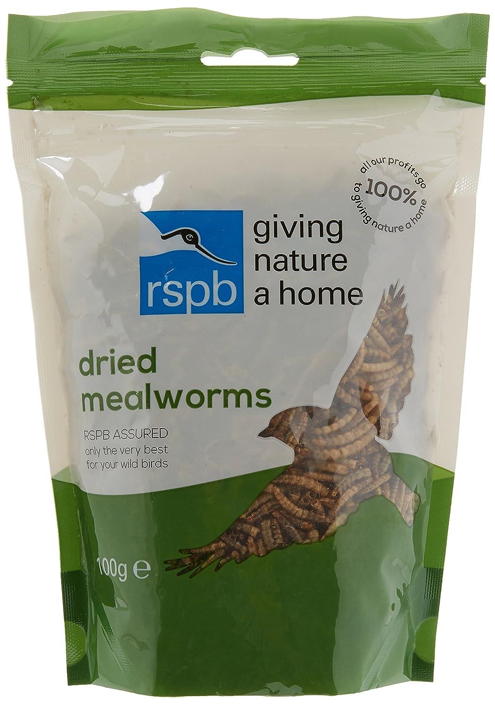 RSPB 100g Dried Mealworms RSPB Sales Ltd