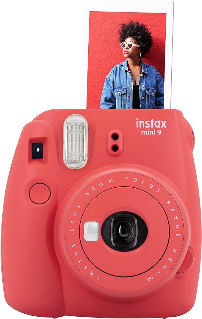 Fujifilm Instax Mini 9 Kamera Poppy Rot Kamera