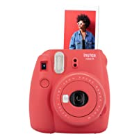 instax 16607123 Mini 9 Camera - Poppy Red