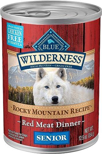 Blue Buffalo Wilderness High Protein Grain Free Natural Senior Wet Dog Food