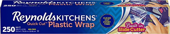 Reynolds Kitchens Quick Cut Plastic Wrap - 250 Sq Ft roll
