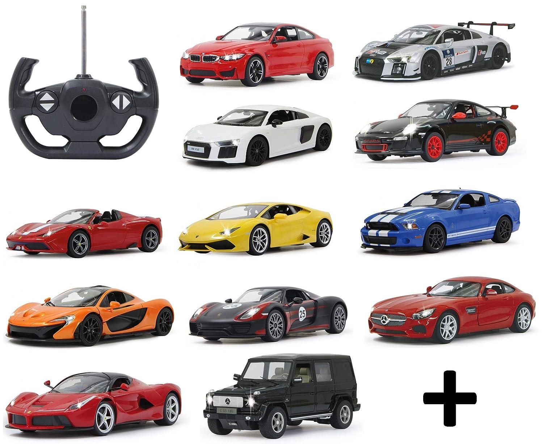 BUSDUGA RC ferngesteuertes Auto 1 14 - wählen Sie Ihr Modell - mit Licht, Lizenznachbau, RTR (Audi R8 rot) B07NXVCQ6X Autos Zuverlässiger Ruf | Ausgezeichnet