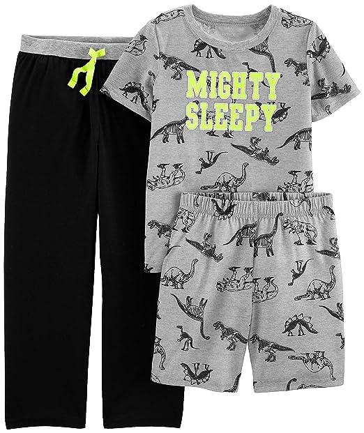 326bfc1742f6 Amazon.com  Carter s Boys  3-Piece Poly Pajama Sets  Clothing