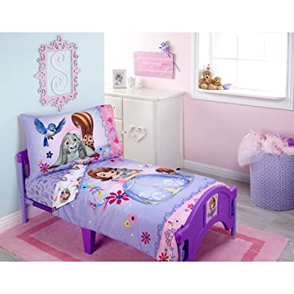 Sofia Friends are Magic 4-Piece Toddler Bedding Set