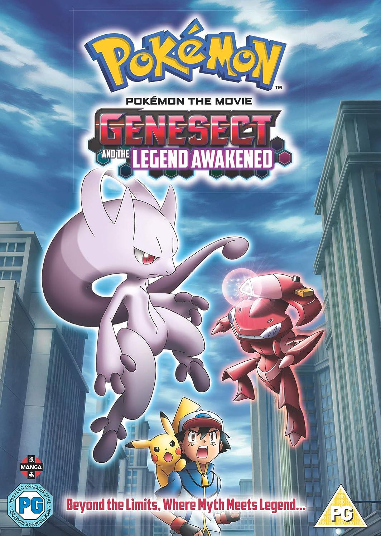 Amazon Com Pokemon Movie 16 Genesect And The Legend Awakened
