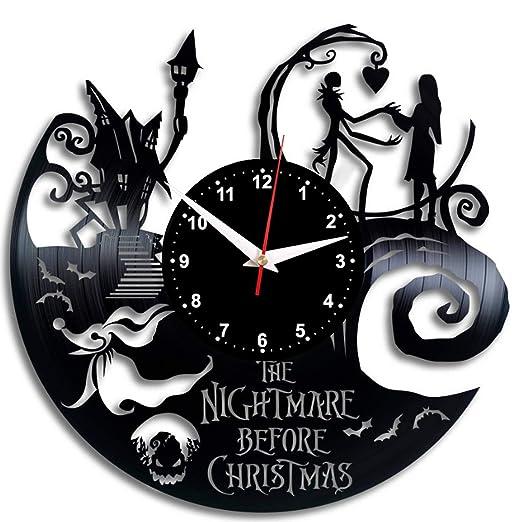 THE NIGHTMARE BEFORE CHRISTMAS Reloj De Pared Vintage Diseño ...