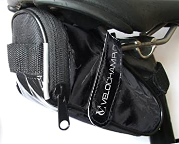 VeloChampion Slick Pack de Asiento de Bici - Bolsa para sillin de ...