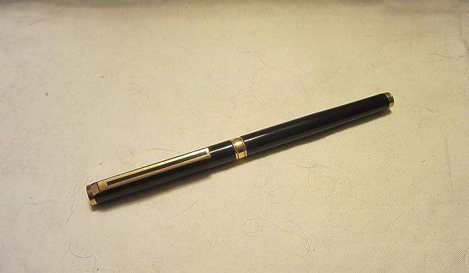 Amazon.com: Colibri Classic Rollerball Pen Black with Gold ...