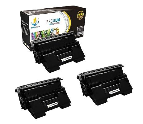 amazon com catch supplies replacement 52114502 black laser toner rh amazon com Okidata C6100 Okidata Spanish