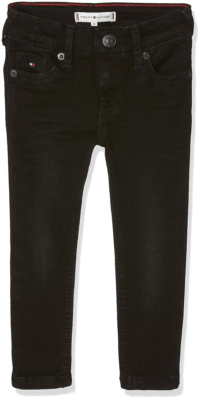 Tommy Hilfiger Sophie Skinny Sblast, Jeans Bébé Fille Jeans Bébé Fille Noir (Spring Black Stretch 911) 86 KG0KG03_763