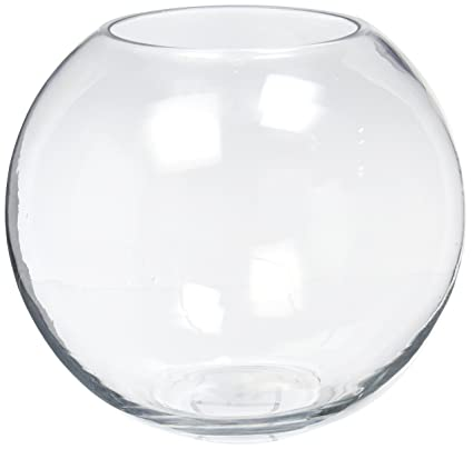 Amazon Wgv Clear Bubble Bowl Glass Vase With Wgv Glass Cleaning