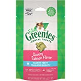 Greenies Feline Dental Cat Treat Salmon Flavour 60G Bag, One Size