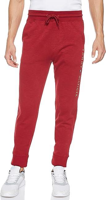 Grey Tommy Hilfiger Mens Logo Joggers