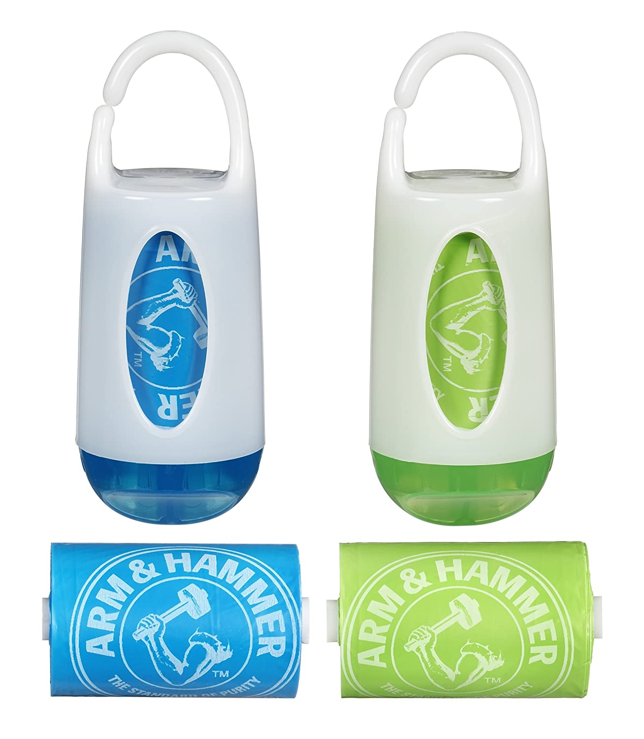 Amazon.com : Arm & HammerDiaper Bolsa dispensador y Bolsas ...
