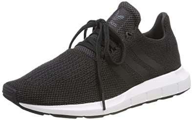 buy online b57dc 8f431 Adidas Swift Run, Boys  Fitness, Gray (Carbon Negbas Brgrin 000