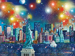 product image for Buffalo Games - Cities in Color - Manhattan Celebration - 750 Piece Jigsaw Puzzle