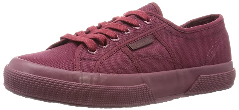 Superga 2750 Cotu Classic Sneakers Low-Top Unisex Damen Herren Komplett Weinrot