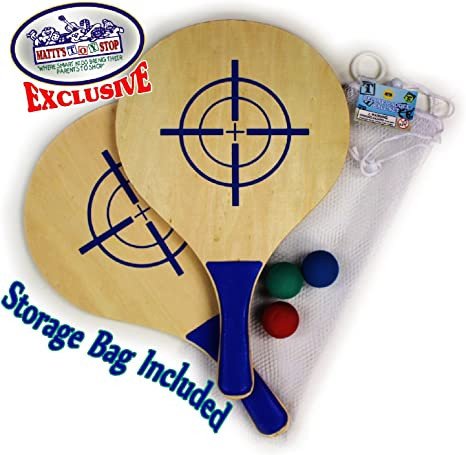Amazon.com: Matty del juguete Stop Deluxe Paddle Juego de ...