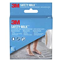 Deals on 3M Safety-Walk Tub and Shower Tread, Clear 1-In by 180-In Roll