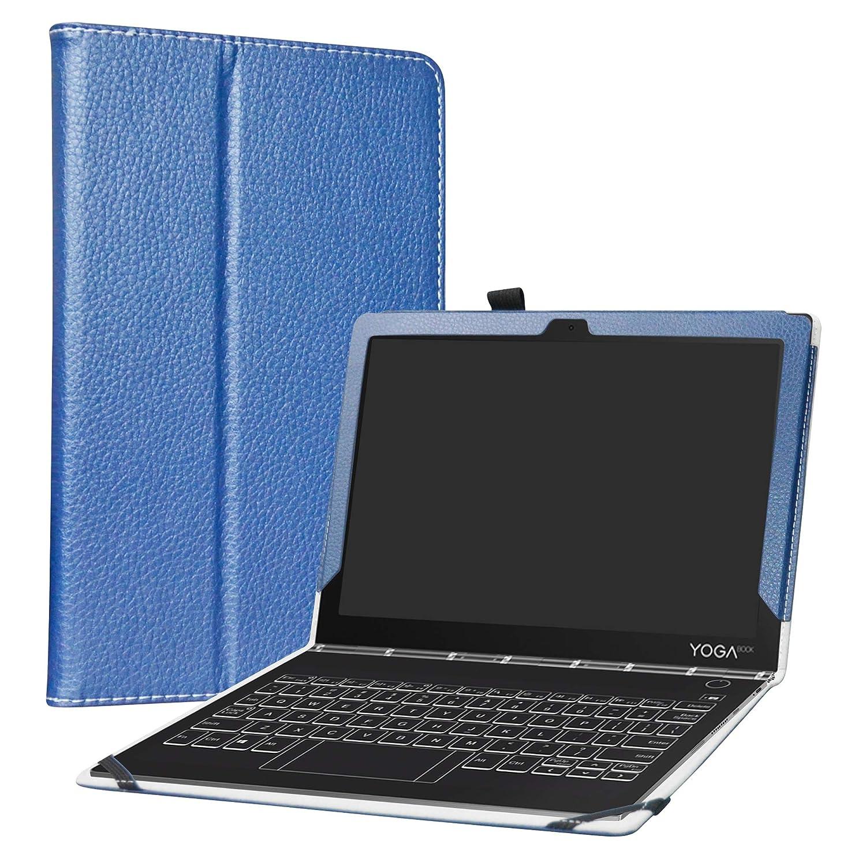 LiuShan Yoga Book C930 Funda, Folio Soporte PU Cuero con Funda Caso para 10.1