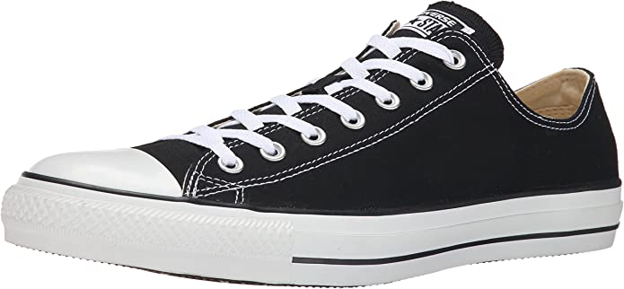 Converse Chucks (Chuck Taylor) All Star Ox Low Tops Unisex Damen Herren Schwarz