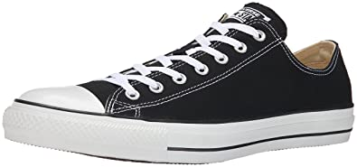53e41ce7f743 Converse Unisex Chuck Taylor All Star Low Top Black Sneakers - 9.5 D(M)