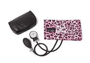 koi by ADC Blood Pressure Cuff With Bag Pink Cheetah
