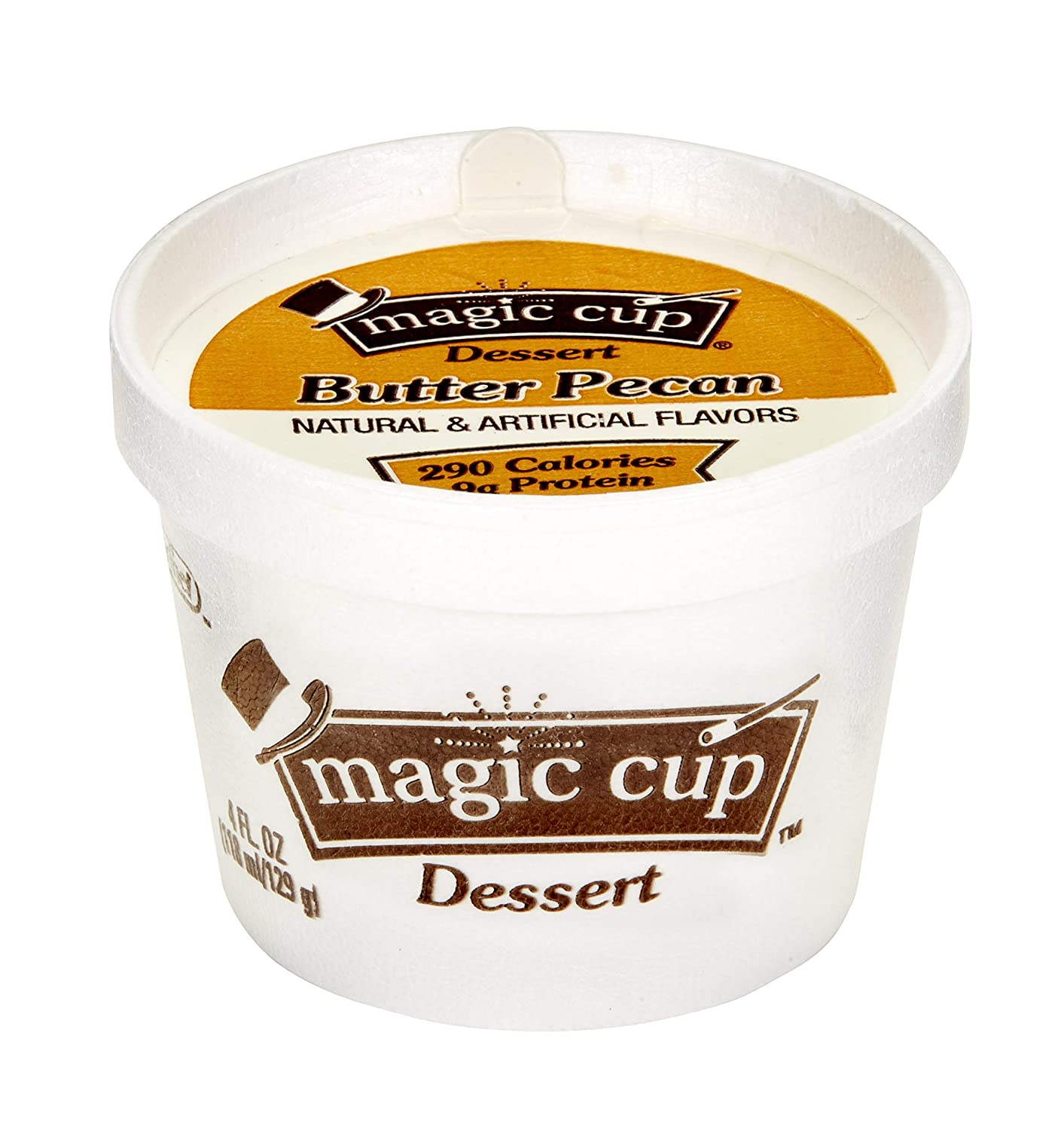 Magic Cup Fortified Nutrition Vanilla Snack, 4 Ounce -- 48 per case