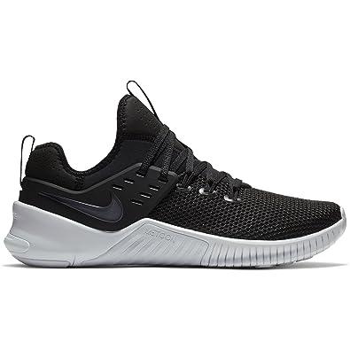 NIKE Men's Metcon Free Training Shoe Black/White 7.5