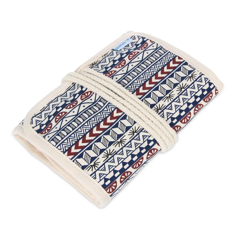 Amazon Teamoy Crochet Hook Case Canvas Roll Bag Holder