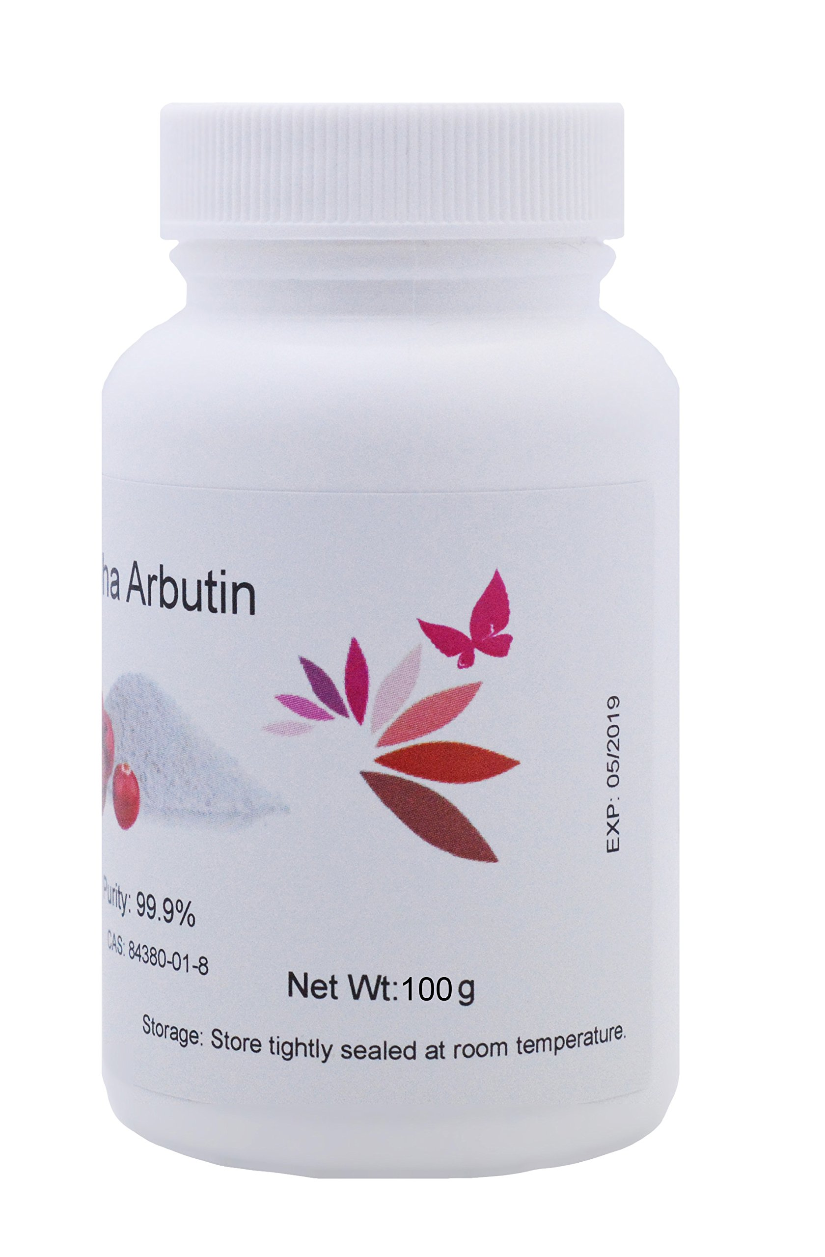 Pure Alpha-Arbutin Powder, 100 grams, Quality Guaranteed! Good for Skin Lightening by L'eternel World (Image #2)