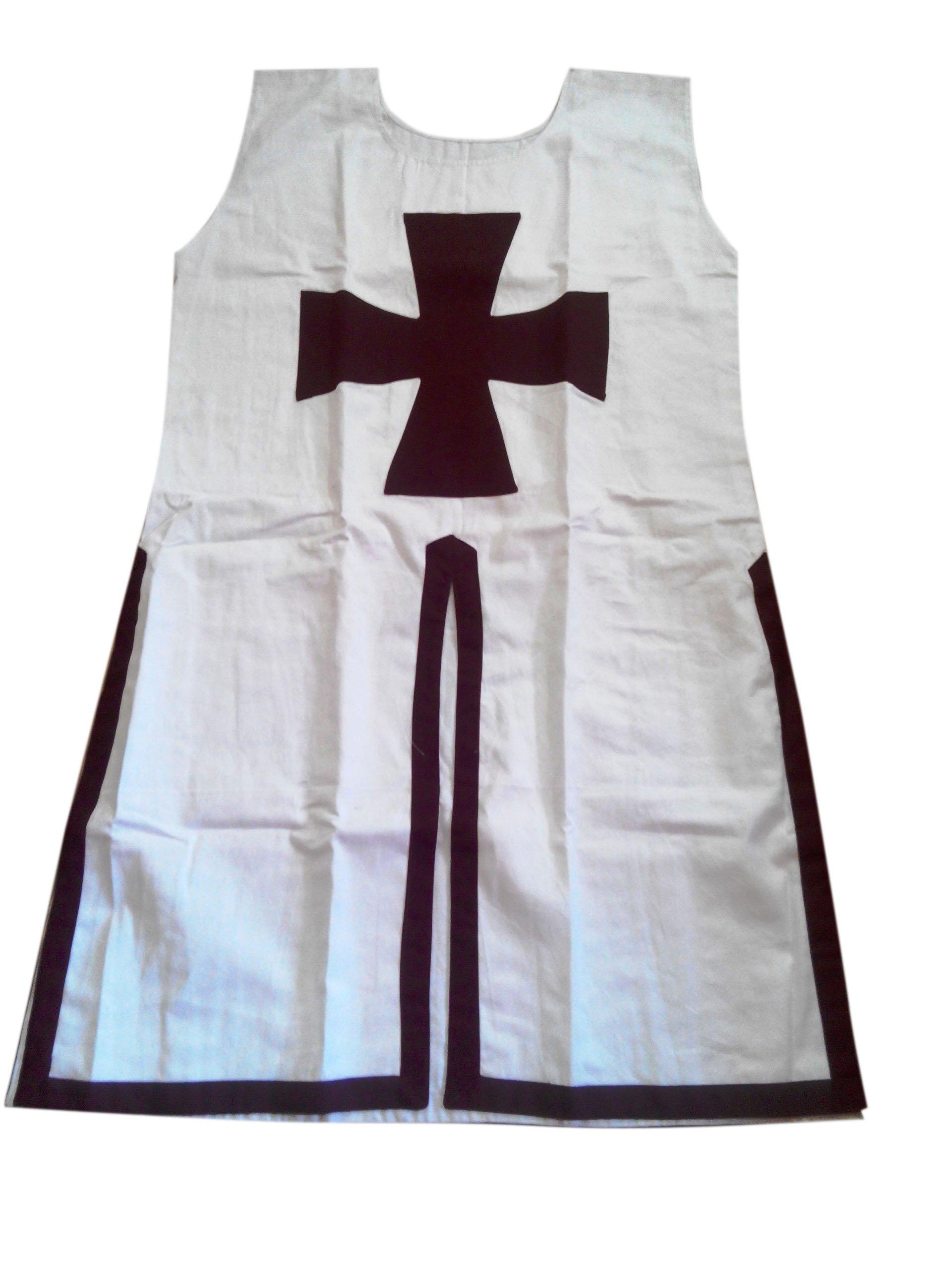 Medieval Red/&Yellow Templar Tunic Surcoat Crusader Sleeveless Renaissance LARP