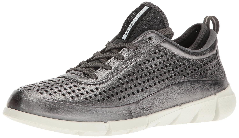 ECCO Women's Intrinsic Sneaker Fashion Sneaker B01EKKX8J0 41 EU/10-10.5 M US|Dark Shadow Metallic
