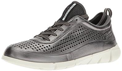 Ecco Intrinsic 1, Zapatillas para Mujer, Plateado (59222dark Shadow Metallic), 40 EU