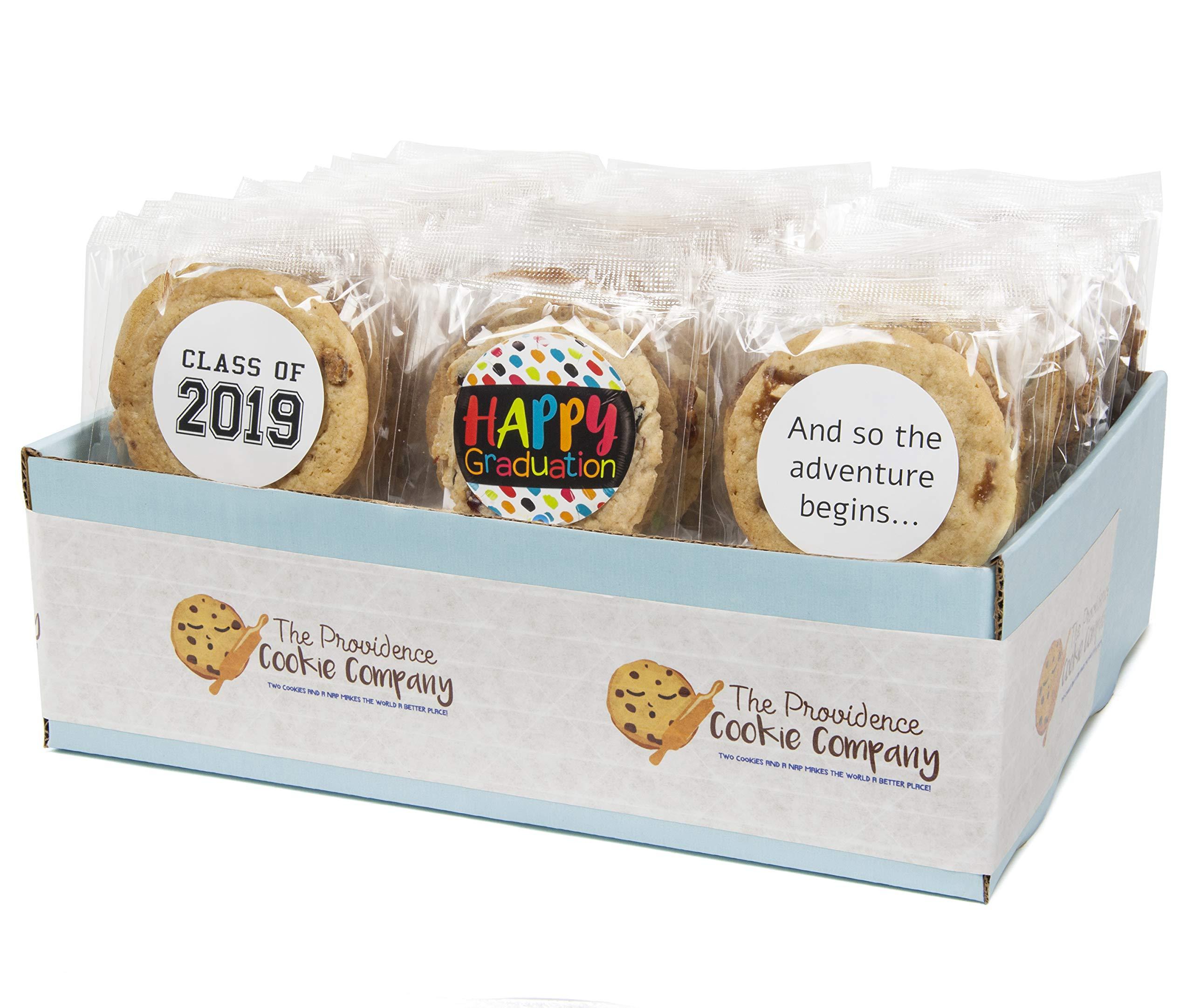 The Providence Cookie Company GRADUATION GOURMET COOKIE GIFT choose 1, 2, 3 or 4 Dozen (1 Dozen)