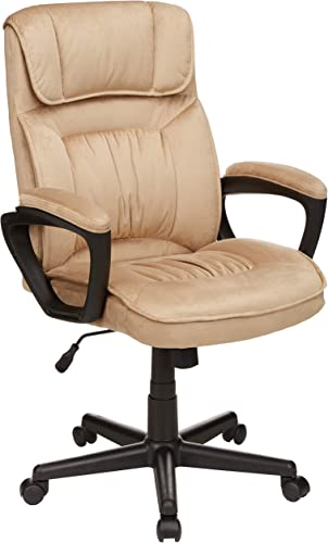 Amazon Basics Classic Office Desk Computer Chair