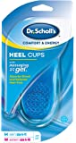 Dr. Scholl's Massaging Gel Heel Cups, Medium, 1 Pair Package