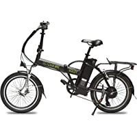 """Folding Electric Bicycle 20"""" 500W With A Removable 48v 10AH Lithium-Ion Battery - Lightweight and High Speed E-bike - All Terrain Foldaway Sport Commuter Bicycle With Pedal Assist and Pedal-Free Mode"""
