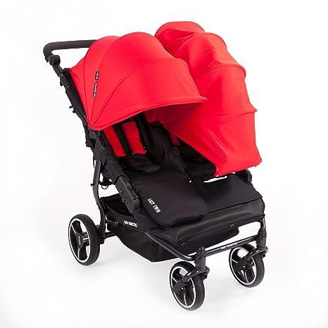 NUEVA Silla Gemelar Easy Twin 3.0.S con capota reversible de paseo Baby Monsters -